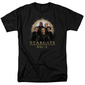 SG1 SG1 TEAM - S/S ADULT 18/1 - BLACK T-Shirt