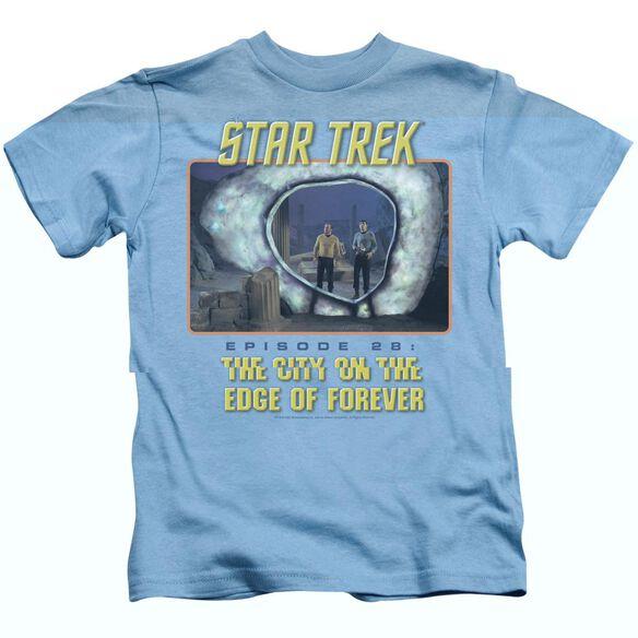 ST ORIGINAL EDGE OF FOREVER - S/S JUVENILE 18/1 - CAROLINA BLUE - T-Shirt