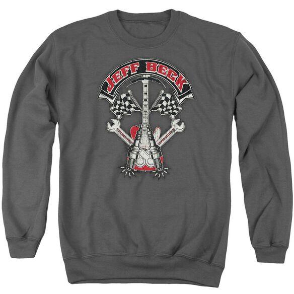 Jeff Beck Beckabilly Guitar Adult Crewneck Sweatshirt