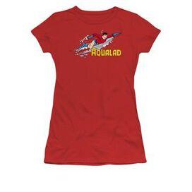 Aqualad Over Name Juniors T-Shirt