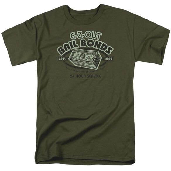 E - ADULT 18/1 - MILITARY GREEN T-Shirt