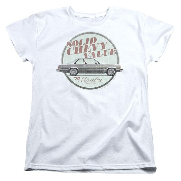 Chevrolet Do The Bu Short Sleeve Womens Tee T-Shirt