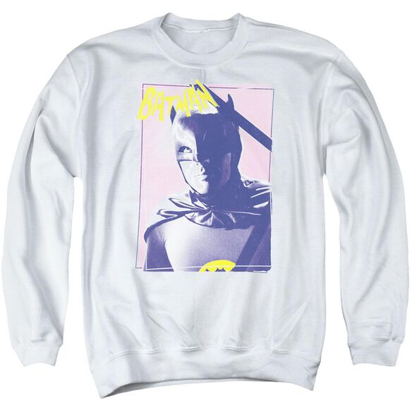 Batman Classic Tv Wayne 80's Adult Crewneck Sweatshirt