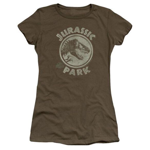 Jurassic Park Jp Stamp Premium Bella Junior Sheer Jersey Military
