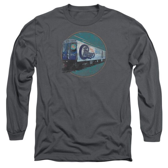 Chicago The Rail Long Sleeve Adult T-Shirt