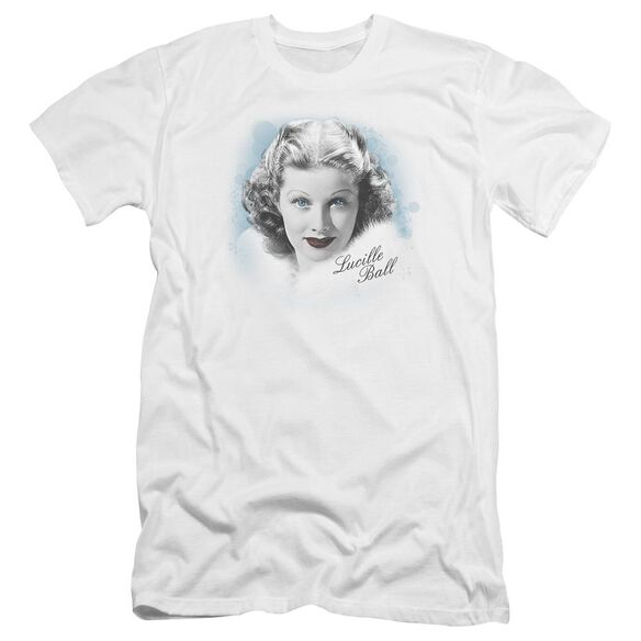 Lucille Ball In Blue Premuim Canvas Adult Slim Fit