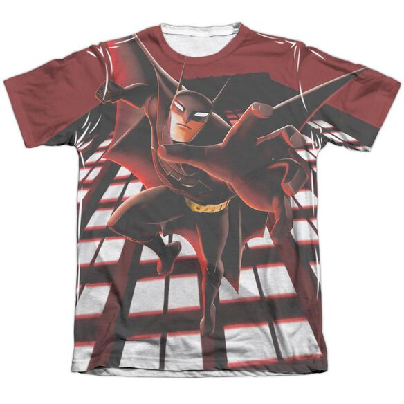 Beware The Batman City Protector Adult Poly Cotton Short Sleeve Tee T-Shirt