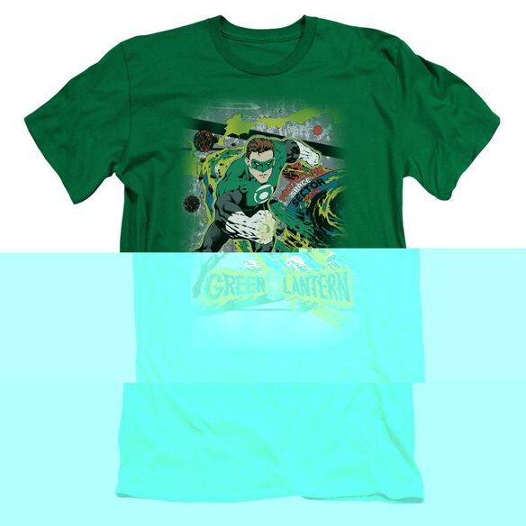 DC SPACE SECTOR 2814 - S/S ADULT 30/1 - KELLY GREEN T-Shirt