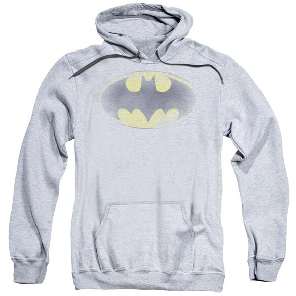 Batman Faded Logo Adult Pull Over Hoodie Athletic