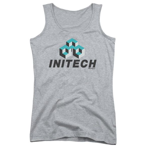 Office Space Initech Logo Juniors Tank Top Athletic