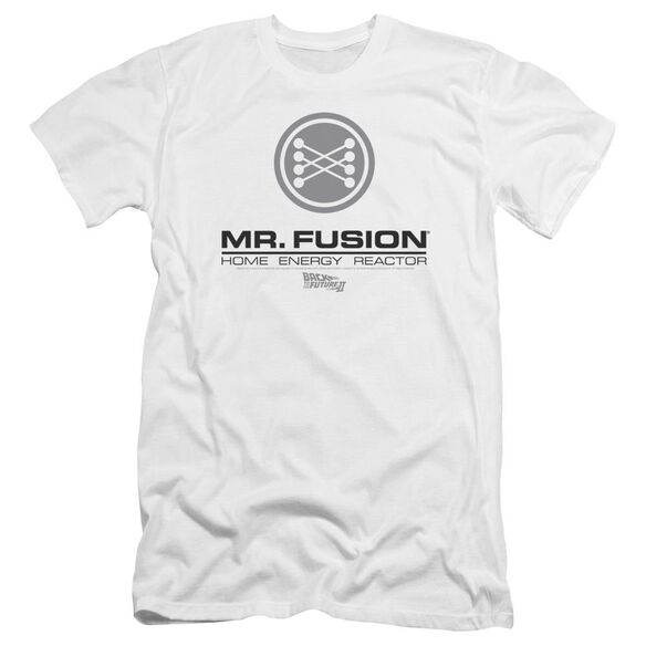Back To The Future Ii Mr. Fusion Logo Premuim Canvas Adult Slim Fit