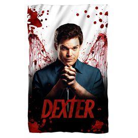Dexter Blood Never Lies Fleece Blanket