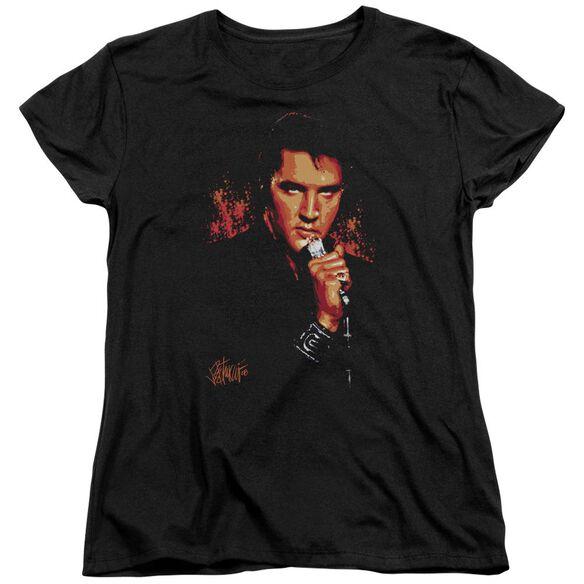 Elvis Trouble Short Sleeve Women's Tee T-Shirt