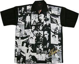Elvis Collage Club Shirt
