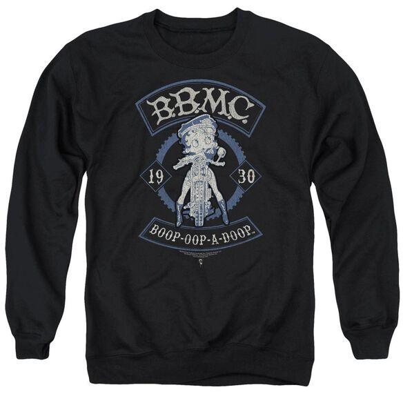 Betty Boop B.B.M.C. Adult Crewneck Sweatshirt