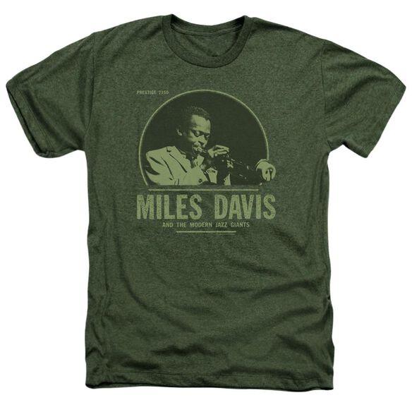 Miles Davis The Miles Adult Heather Military