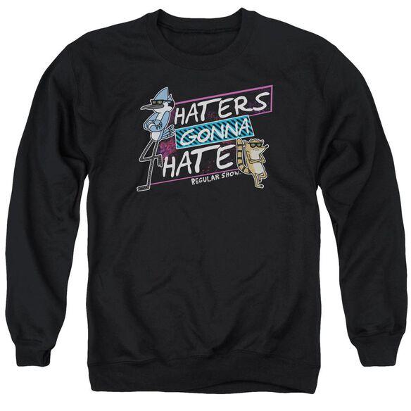 Regular Show Haters Gonna Hate Adult Crewneck Sweatshirt