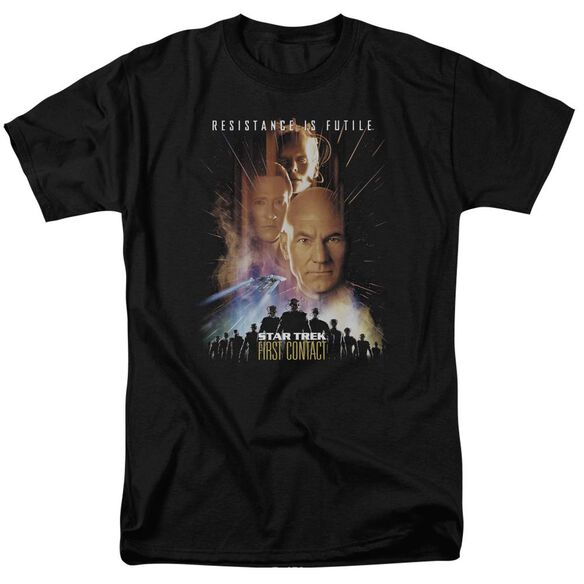 Star Trek First Contact(Movie) Short Sleeve Adult T-Shirt
