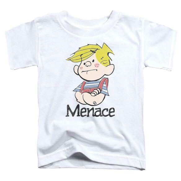 Dennis The Menace Menace Short Sleeve Toddler Tee White T-Shirt