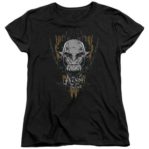 Hobbit Azog Short Sleeve Womens Tee T-Shirt
