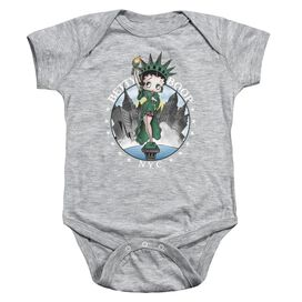 Betty Boop Nyc-infant Snapsuit-athletic