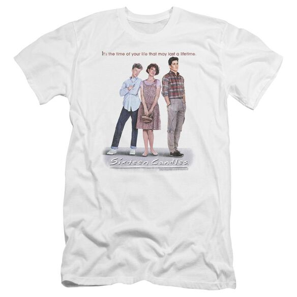 Sixteen Candles Poster Premuim Canvas Adult Slim Fit