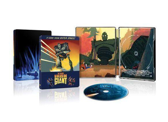 The Iron Giant [Exclusive Blu-ray Steelbook]