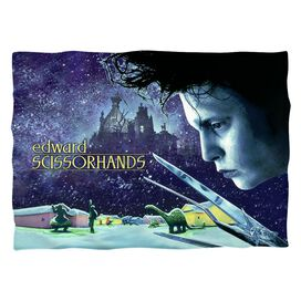 Edward Scissorhands Movie Poster Pillow Case