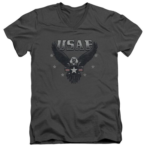 Air Force Incoming Short Sleeve Adult V Neck T-Shirt