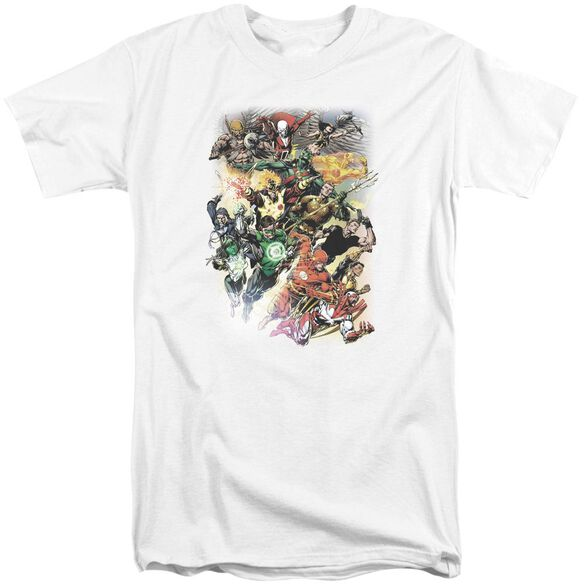 Jla Brightest Day #0 Short Sleeve Adult Tall T-Shirt