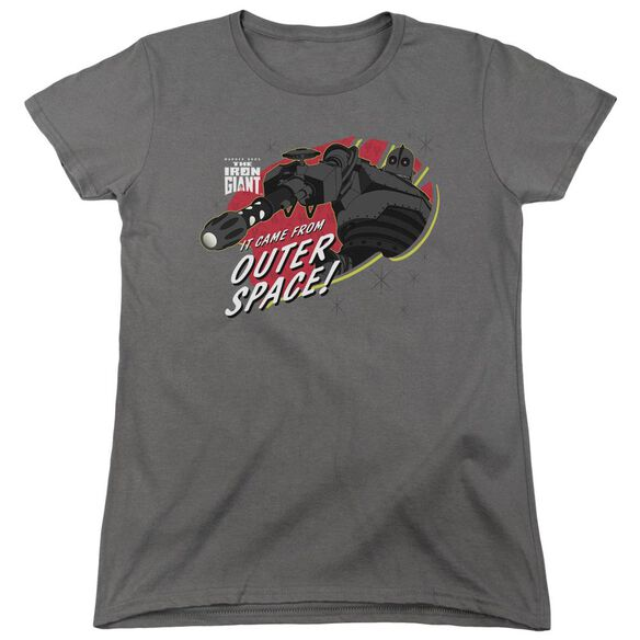 Iron Giant Outer Space Short Sleeve Womens Tee T-Shirt