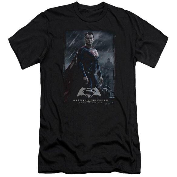 Batman V Superman Supe Poster Short Sleeve Adult T-Shirt