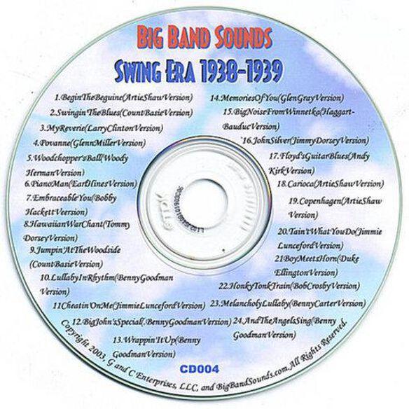 Swing Era 1938 1939 Cd004