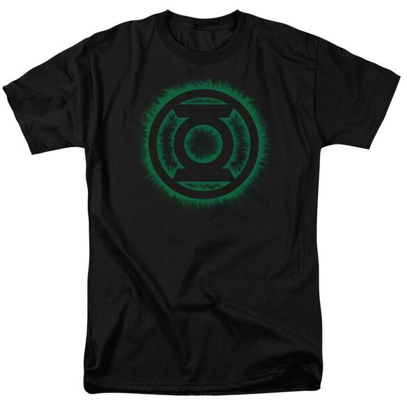 Green Lantern Green Flame Logo Short Sleeve Adult T-Shirt