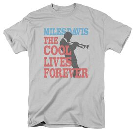 Miles Davis Cool Lives Short Sleeve Adult T-Shirt