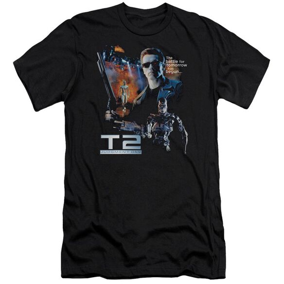 Terminator 2 Battle Premuim Canvas Adult Slim Fit