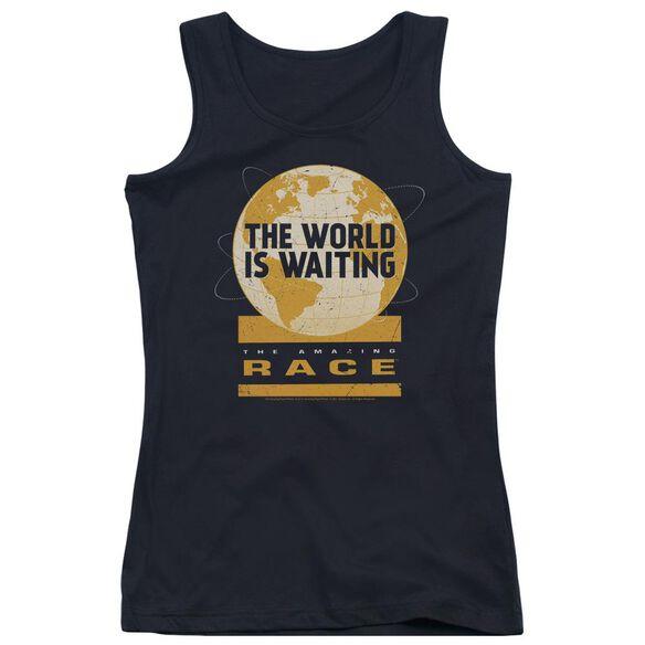 Amazing Race Waiting World Juniors Tank Top