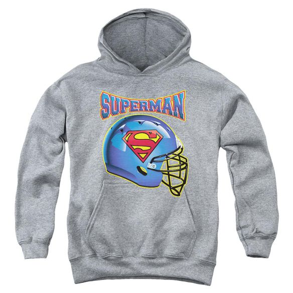 Superman Helmet Youth Pull Over Hoodie