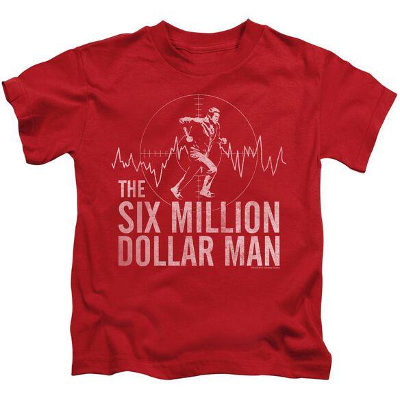 Six Million Dollar Man Target Short Sleeve Juvenile T-Shirt