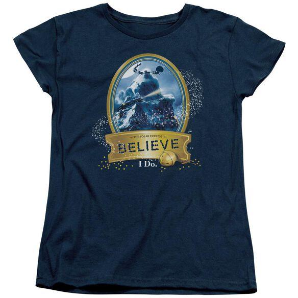 Polar Express True Believer Short Sleeve Womens Tee T-Shirt