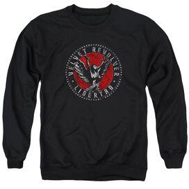 Velvet Revolver Circle Logo Adult Crewneck Sweatshirt