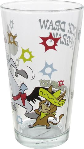 Quick Draw McGraw Baba Looey Pint Glass