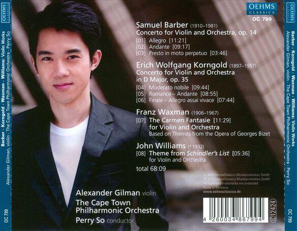 Violin Concertos / Carmen Fantasie