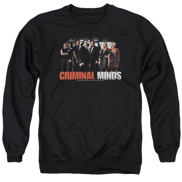 Criminal Minds The Brain Trust Adult Crewneck Sweatshirt