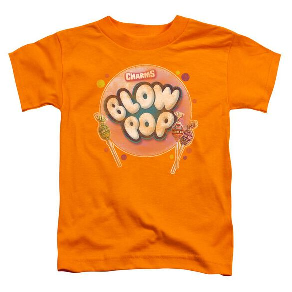 Tootsie Roll Blow Pop Bubble Short Sleeve Toddler Tee Orange Sm T-Shirt