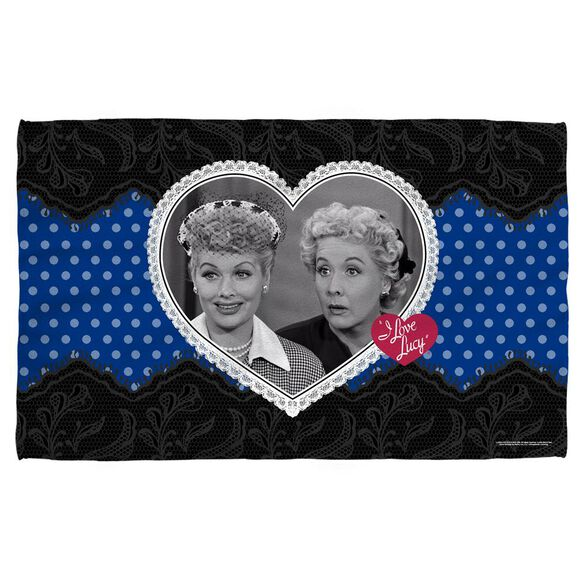 I Love Lucy Lace Of Friendship Face Hand Towel