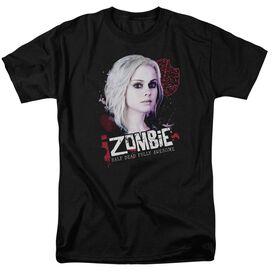 Izombie Take A Bite Short Sleeve Adult Black T-Shirt