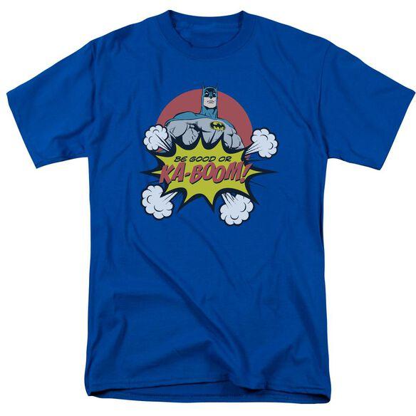 Dc Kaboom Short Sleeve Adult Royal Blue T-Shirt