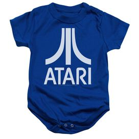 Atari Atari Logo Infant Snapsuit Royal Blue