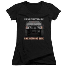 Hummer Like Nothing Else Junior V Neck T-Shirt